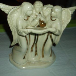 china angel candel holder